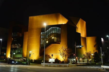 Nagoya City Performing Arts Center night view.JPG