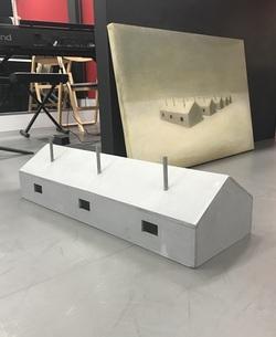 ocean house & maquette.JPG